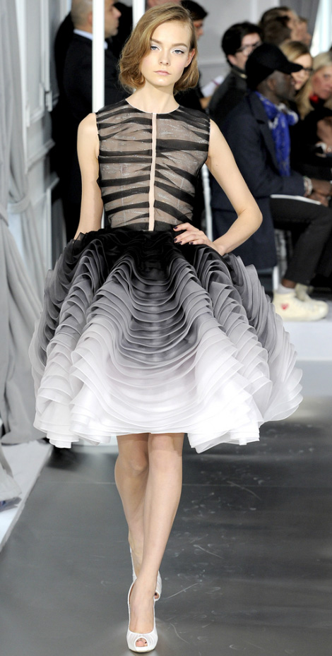 Christian Dior's Couture Spring 2012