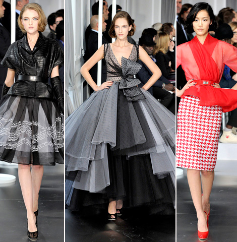 Christian Dior Couture Spring 2012 by Bill Gayten