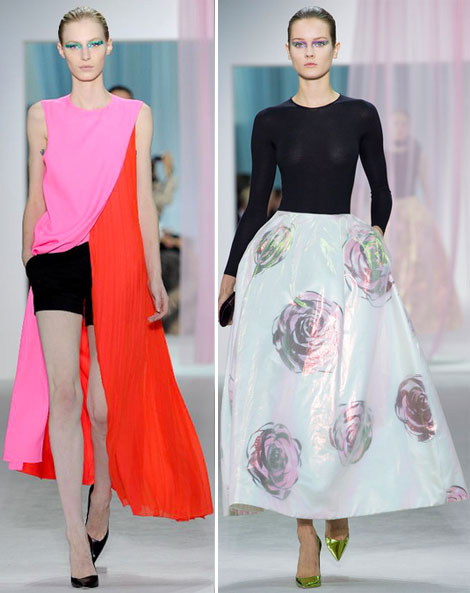 Christian Dior spring 2013 collection by Raf Simons