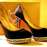 Christian Louboutin Swarovski shoes still looking as new