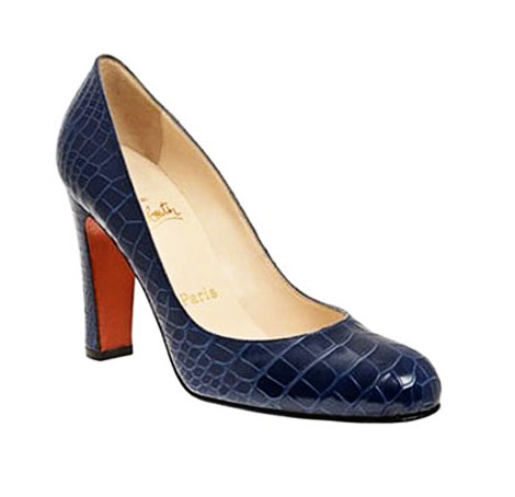Christian Louboutin alligator pumps