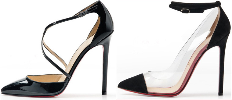 Christian Louboutin ankle shoes 2012