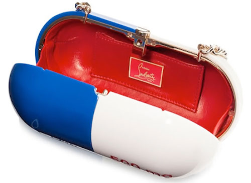 Christian Louboutin bag interior