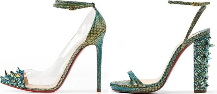 Christian Louboutin sandals 2012