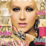 Christina Aguilera Latina March 2012