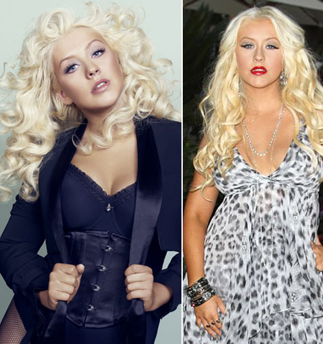 Christina Aguilera Shares All Her Secrets In Marie Claire's February 2012 Issue