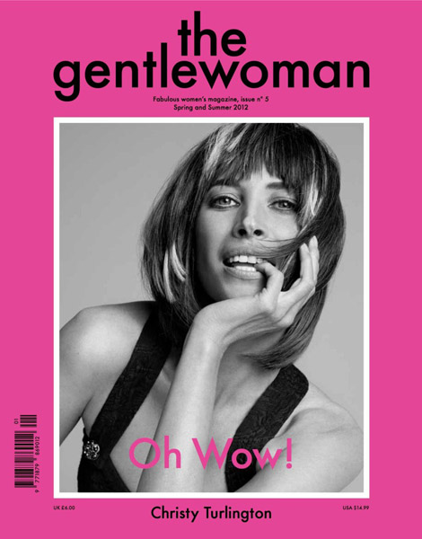 Christy Turlington Is A Gentlewoman This Spring Summer 2012