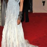 Ciara white dress Met Gala 2011