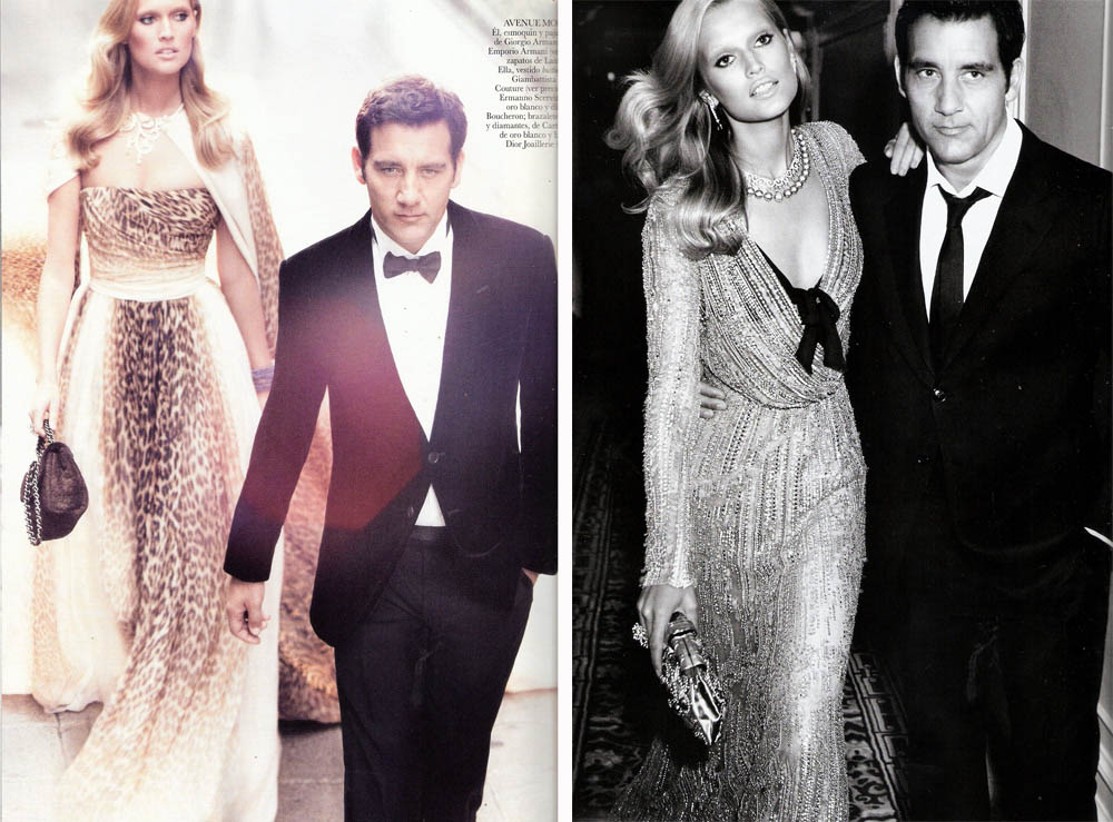 Clive Owen Toni Garn pictures Vogue