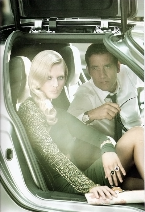Clive Owen spy Toni Garn Vogue Spain