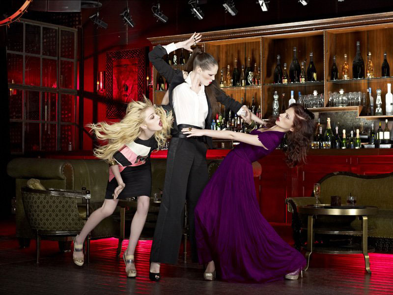 Coco Rocha's ANTM Violent Photo Shoot