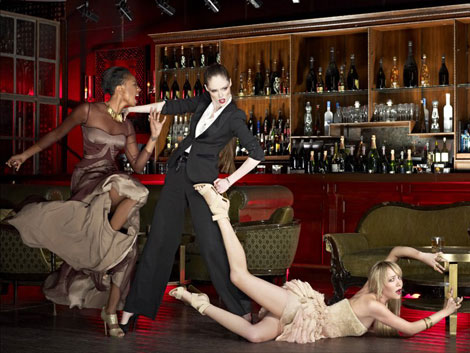 Coco Rocha ANTM violent photo shoot