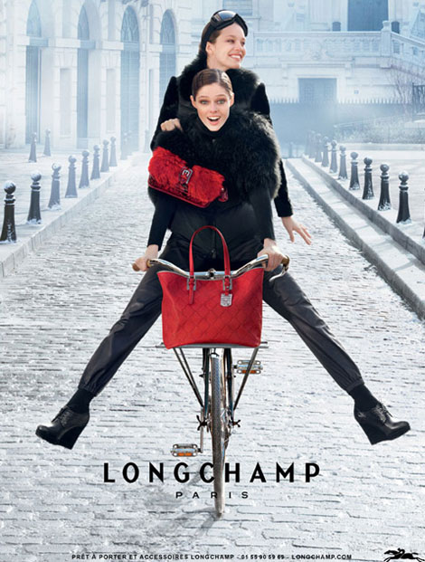 Coco Rocha Emily Didonato Longchamp Fall 2012 Ad Campaign