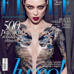 Coco Rocha photoshopped cover Elle Brazil