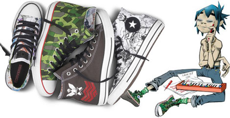 Converse Gorillaz collection