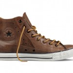 Converse brown leather Moto
