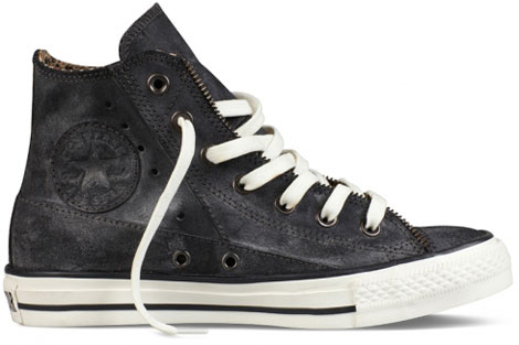 Converse leather moto Chuck Taylor hi
