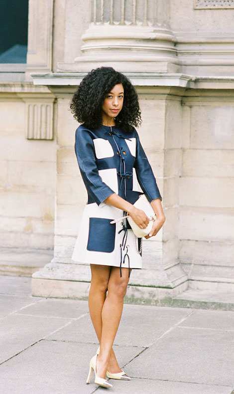Corinne Bailey Rae s Lovely style in Louis Vuitton leather