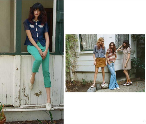 Current Elliott Spring 2012 lookbook