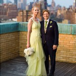 Cynthia Nixon married in Carolina Herrera wedding dress
