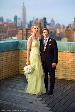 Cynthia Nixon, The Bride, Wore Carolina Herrera Wedding Dress