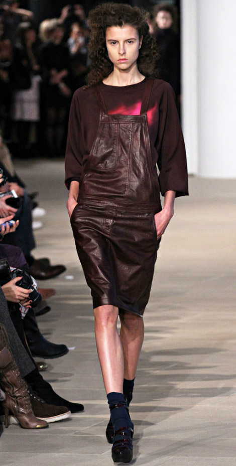 Dark Playsuits Cynthia Rowley Fall Winter 2012 2013