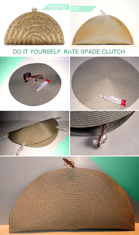 DIY Clutch Inspired By Kate Spade Clutch