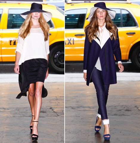 DKNY Spring Summer 2012 collection