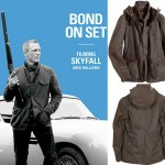Daniel Craig James Bond SkyFall Wears Barbour Waxed Jacket