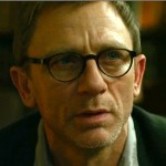 Daniel Craig wearing glasses