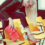 Daphne Groeneveld DSquared2 Fall 2012 campaign