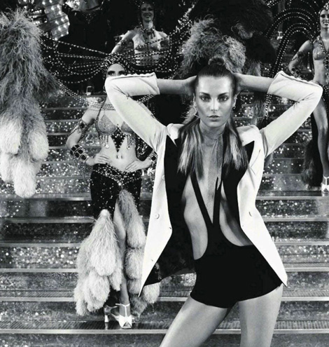 Daria Werbowy Vogue Paris February
