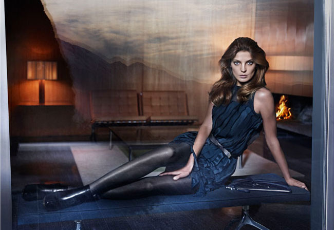 Daria Werbowy Hugo Boss Ad Campaign Fall Winter 11 12