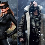 Dark Knight Rises Batman Bane and Catwoman costumes