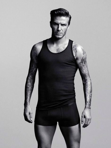 David Beckham Bodywear collection with H and M