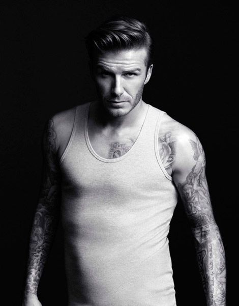 David Beckham Undresses To Sell H&M Underwear