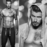 David Beckham H and M Christmas intimate collection