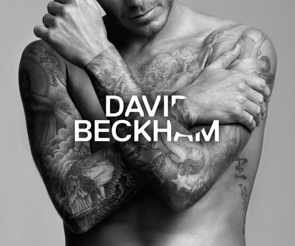 David Beckham Bodywear collection ad campaign