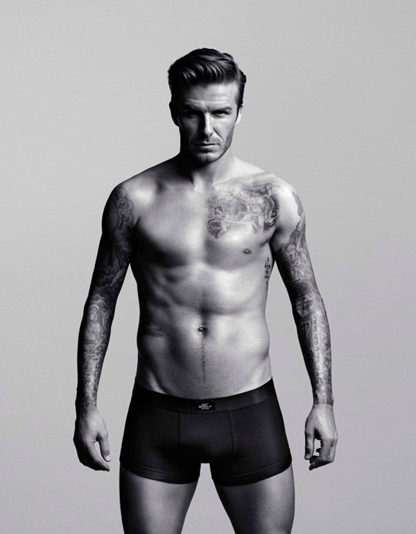 David Beckham for H M Bodywear collection