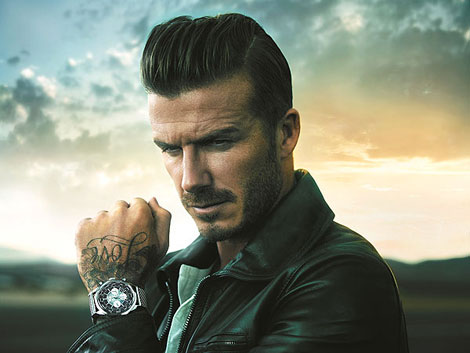 David Beckham s watch Breitling