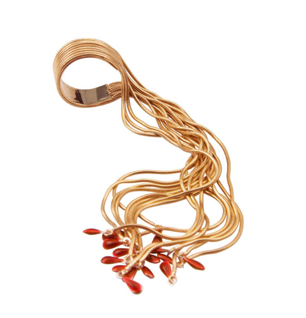 Delfina Delettrez Fringe Bracelet And More