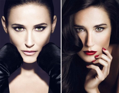 Will Helena Rubinstein Take Down Demi Moore's Over Photoshopped Ads?
