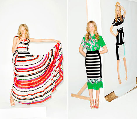 Derek Lam 10Crosby Spring Summer 2012 collection