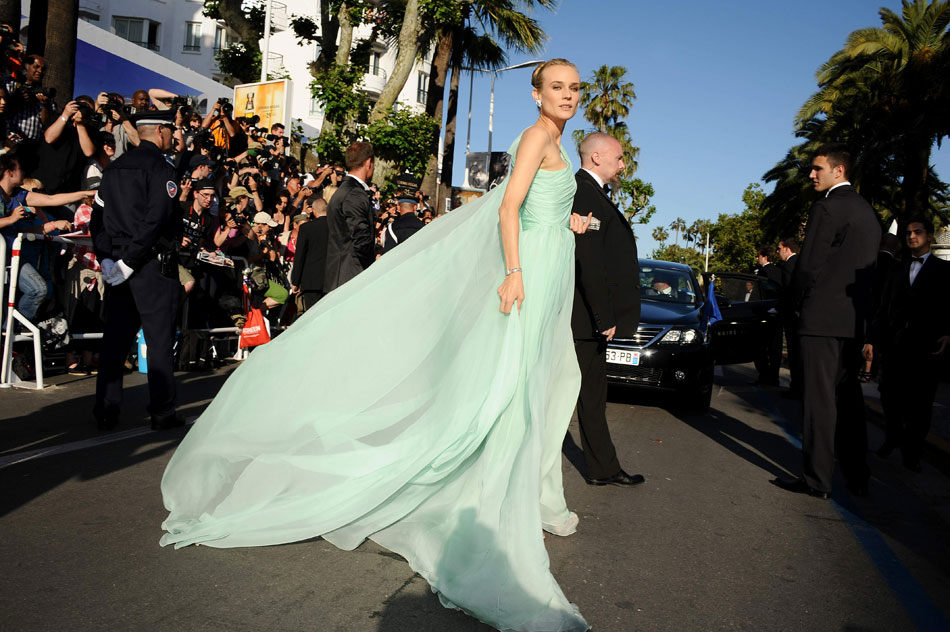 Diane Kruger dress Cannes 2012 Red Carpet
