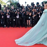 Diane Kruger s pale Giambattista Valli dress Cannes 2012