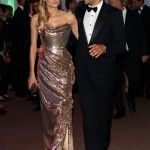 Diane Kruger s sequined dress Joshua Jackson tux Cannes