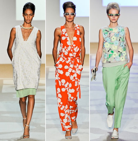 Diane von Furstenberg Spring Summer 2012 collection