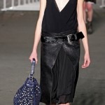 Diesel Black Gold Fall Winter 2012 2013 black leather