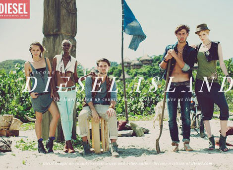 Welcome To Diesel Island Summer 2011 Campaign