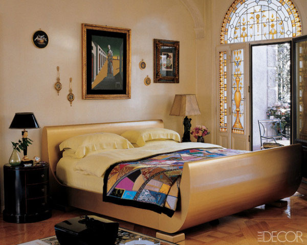 Donatella Versace Home Bedroom